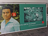 Aki Ra, founder of the the Cambodian Landmine Museum Relief Facility (CLMMRF) - Angkor, Siem Reap Province, Cambodia