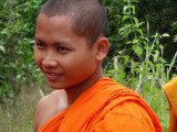 A monk near the Banteay Srei Temple - Angkor, Siem Reap Province, Cambodia