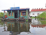 The floating Fisheries Administration building - Tonle Sap Lake, Siem Reap Province, Cambodia