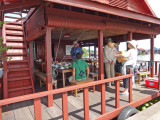 We ate lunch at this floating restaurant - Tonle Sap Lake, Siem Reap Province, Cambodia
