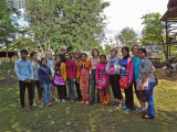 The Women for Women group and their sponsored young ladies (high school students)