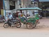A tuk-tuk in Siem Reap, Cambodia