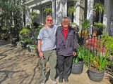 Ken and Richard in the Garden District of New Orleans