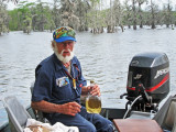 Norbert and his home stuff - he asked us to join him which we did  - on Lake Martin in southwestern Louisiana