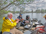 We all joined Norbert in imbibing his home stuff (Jerry & Ken seen above) - on Lake Martin in southwestern Louisiana