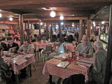 Elliott and Jerry (right side) at Pont Breaux's Cajun Restaurant in Breaux Bridge in southwestern Louisiana