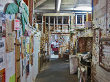 The back room and office of Mr. D's Restaurant in Lorman, southern Mississippi - we ate lunch at this restaurant