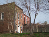 Bessie Brewer's Boarding House (foreground) - Martin Luther King Jr. was assassinated by James Earl Ray from this building