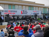 Tavis Smiley - master of ceremonies at the reopening ceremony of the National Civil Rights Museum at the Lorraine Motel