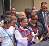 Dr. Rosalyn Nichols - a moving prayer about the hallowed ground of  the National Civil Rights Museum at the Lorraine Motel