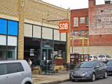 We ate here at the SOB (South of Beale) Restaurant on South Main Street in Memphis Tennessee
