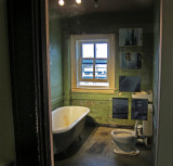 Martin Luther King Jr. was assassinated from this bathroom in Bessie Brewer's Boarding House