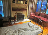 James Earl Ray's room at Bessie Smith's Boarding House across the street from the Lorraine Motel