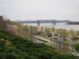 The Mississippi River as seen from Memphis, Tennessee