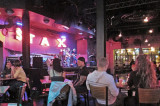 Music in a bar on Beale Street in Memphis Tennessee