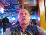 Ken's Memphis look - while we listened to music in a bar on Beale Street in Memphis, Tennessee