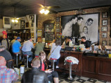 Main room of Sun Studio where guests wait for tours, and refreshments and souvenirs are sold -  in Memphis Tennessee