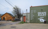 An alley near Sun Studio in Memphis, Tennessee (Sure looks like an escape alley. :-) )