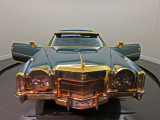 Isaac Hayes' Cadillac exhibited at the Stax Museum of American Soul Music in Memphis, Tennessee