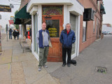 Ken and Richard in front of Sun Studio in Memphis, Tennessee