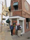 Ken, Elliott and Richard in front of Sun Studio in Memphis, Tennessee