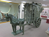 Jade wedding carriage from China at the Belz Museum of Asian and Judaic Art in Memphis, Tennessee
