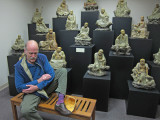Ken as one of the Buddhas (from China) at the Belz Museum of Asian and Judaic Art in Memphis, Tennessee