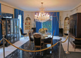 Dining room at Graceland -  Elvis Presley's home in Memphis, Tennessee