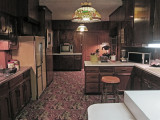 Kitchen at Graceland - Elvis Presley's home in Memphis, Tennessee