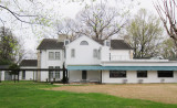 The back of the mansion at Graceland - Elvis Presley's home in Memphis, Tennessee