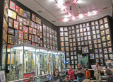 Room for Elvis' gold records and other memorabilia at Graceland - Elvis Presley's home in Memphis, Tennessee