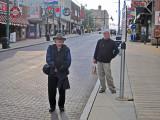 Elliott and Richard on Beale Street in Memphis, Tennessee