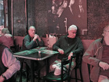 Elliott and Ken in the Blues City Cafe on Beale Street in Memphis, Tennessee