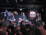 The Memphis Three playing in the Blues City Cafe on Beale Street in Memphis, Tennessee