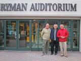 Ken, Elliott and Richard in front of Ryman Auditorium in downtown Nashville, Tennessee