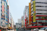 Street in  Akihabara (Electric Town) - district in central Tokyo famous for its electronic, manga and anime shops