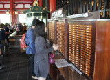 Pay 100 yen here for a fortune - next to the Main Hall of the Senso-ji Temple - Tokyo