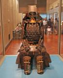 Samurai Gusoku Armor - do-maru chest armor with black lacing (17th century) - Tokyo National Museum
