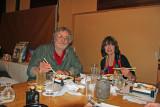 Judy and Richard - a traditional Japanese dinner at Jidaiya - Tokyo