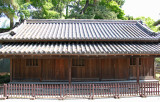 Doshin-Bansho Samurai Guardhouse near the Ote-mon Gate on the grounds of the Imperial Palace - Tokyo