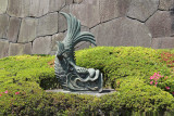 A Shachihoko statue near the Ote-mon Gate of the Imperial Palace - Tokyo