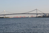 The Rainbow Bridge over the Sumida River as seen from our water bus - Tokyo