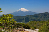Mt Fuji as seen from Owakudani