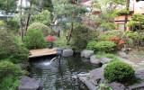 The seasonal garden at the Nunohan Hotel in Suwa-shi