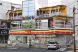 Convenience store near the Nunohan Hotel and Lake Suwa in Suwa-shi