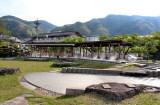 Public hot springs for the feet - near Lake Suwa in Suwa-shi