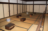 Goyouba  - the administrative room of the feudal lord's lower vassals during the Edo Period - at the Takayama Jinya in Old Town