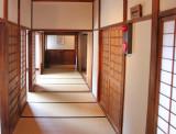 Corridor in Takayama Jinya in Old Town, Takayama