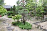 The garden at the Takayama Jinya in Old Town, Takayama