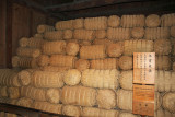 Straw rice sacks like these were collected as a local tax & stored - during the Edo Period - at the Takayama Jinya in Old Town